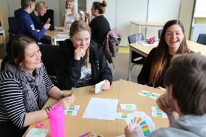 Feedbackspel med Turismlinjen på Grimslövs Folkhögskola