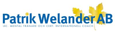 Patrik Welander AB – Coach & Mental träning i Växjö